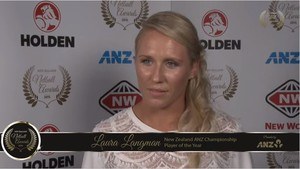 NZ ANZ Championship Player of the Year: Laura Langman