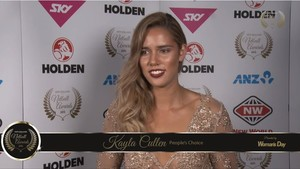 Woman's Day People's Choice: Kayla Cullen