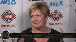 Outstanding Contribution to Netball by a Technical Official, presented by New World: Margaret Marsh