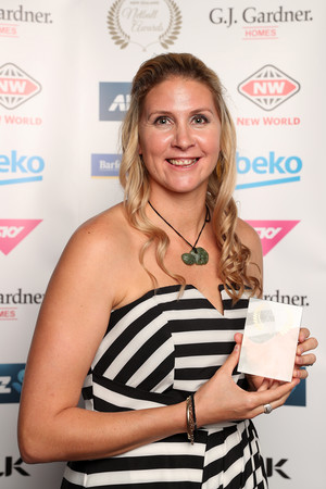 NZ ANZ Championship Coach of the Year: Julie Fitzgerald (accepted by Casey Kopua)