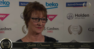 New World Volunteer of the Year: Official - Judith Downer