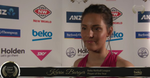 2016 Beko Netball League Player of the Year - Karin Burger